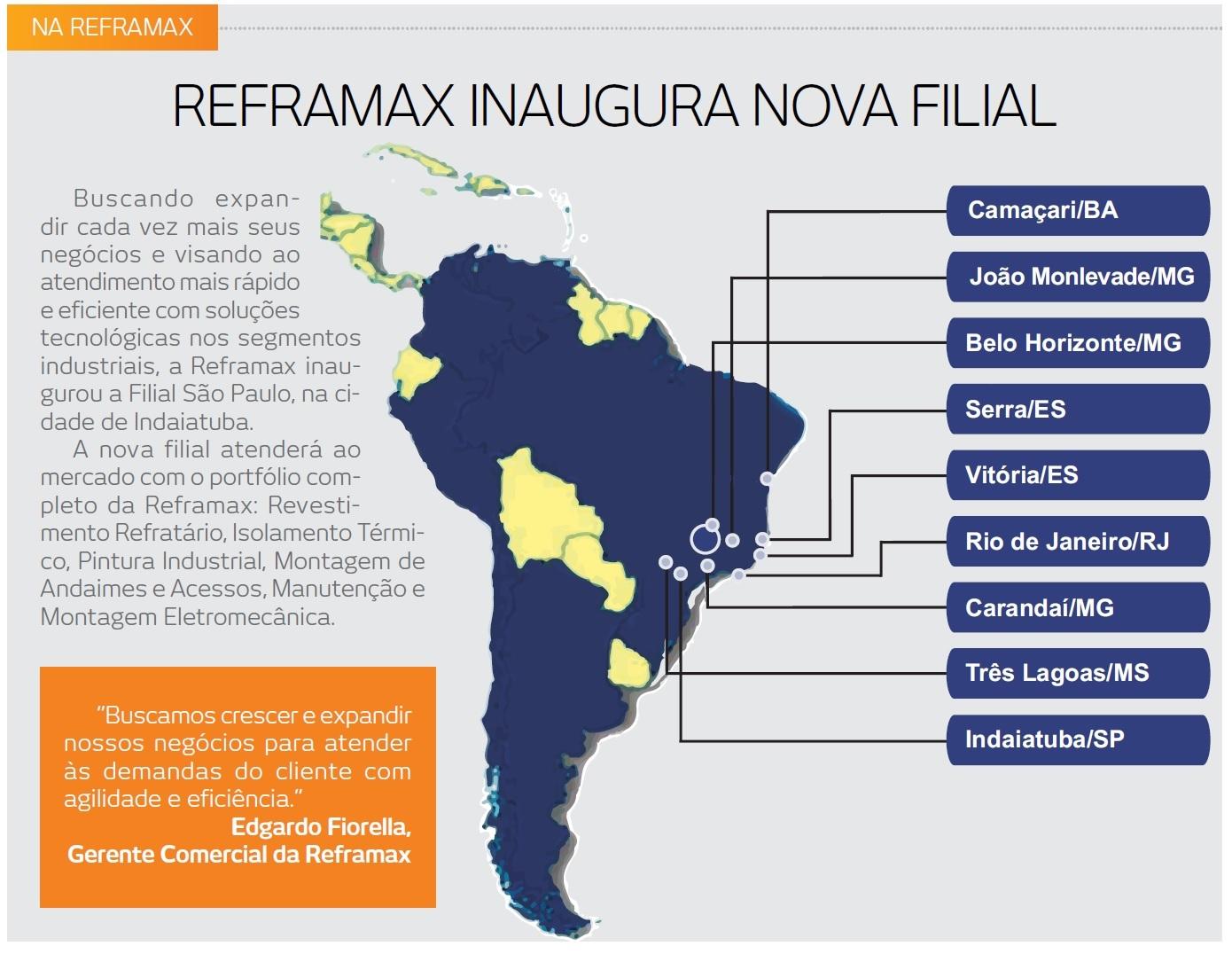 REFRAMAX INAUGURA NOVA FILIAL