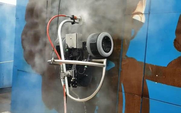 Hidrojateamento Robotizado